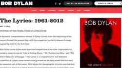 ボブ・ディラン、公式サイトから「ノーベル文学賞受賞者」表記が消える