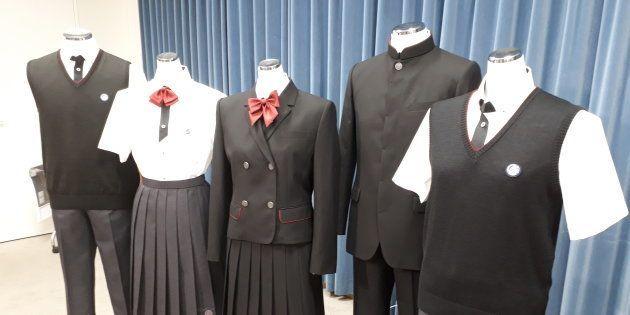 一条高校の新制服
