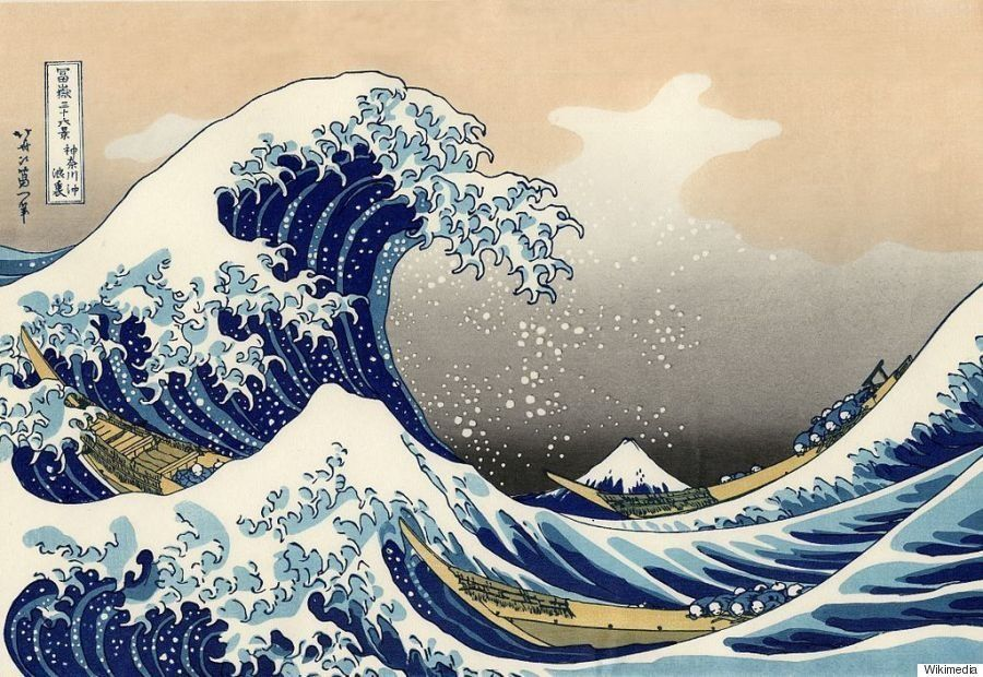 葛飾北斎、波の絵をマスターするのに30年かけていた(画像)