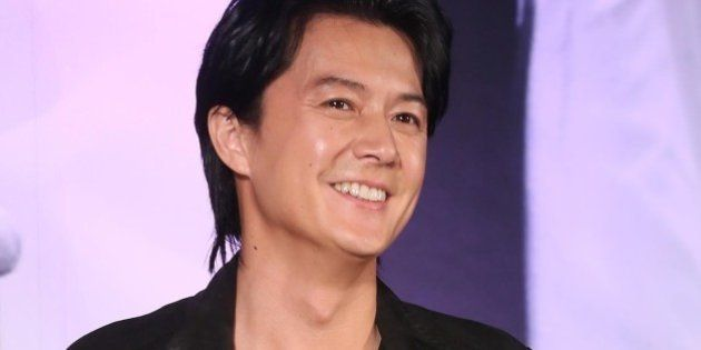 TAIPEI,CHINA - FEBRUARY 25:Japanese singer Fukuyama Masaharu attends his concert press conference on...