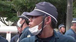 別の機動隊員は「シナ人」と罵声、沖縄県警から大阪府警に連絡