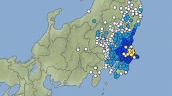 【地震情報】成田市、かすみがうら市などで震度4 震源は千葉県北東部