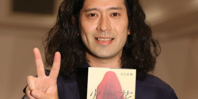 TOKYO, JAPAN - JULY 16: Comedian and novelist Naoki Matayoshi attends the Press conference for his Akutagawa...
