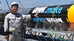 「ホリエモンロケット」MOMO初号機、宇宙へ届かず 堀江貴文氏がリベンジ誓う(UPDATE)
