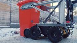 ボルボ、全自動ごみ回収ロボットの試作機を公開 製作期間はたった4ヶ月