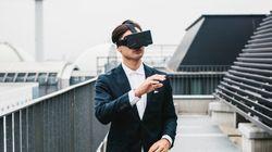VRで体験する認知症の方の世界