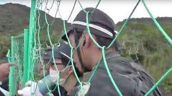 「土人が!」沖縄で機動隊員が罵倒 ヘリパッド抗議の市民に【UPDATE】