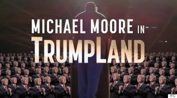 マイケル・ムーア、ドナルド・トランプを題材にした映画を秘密裏に製作