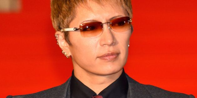 TOKYO, JAPAN - OCTOBER 22: Singer GACKT attends the opening ceremony of the Tokyo International Film...