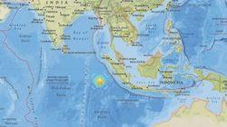 インドネシア・スマトラ島沖 マグニチュード7.8の地震