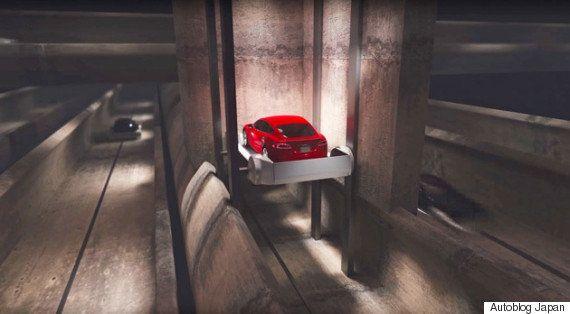 イーロン・マスク、地下トンネルに通じるカーエレベーターを試運転 構想は実現するのか?