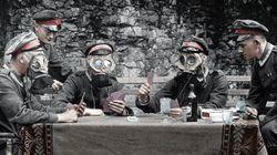 第一次世界大戦から103年、カラー写真でよみがえる戦場の姿【画像集】