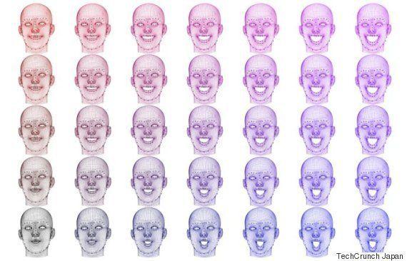 表情から観客の反応を予測するシステムがある