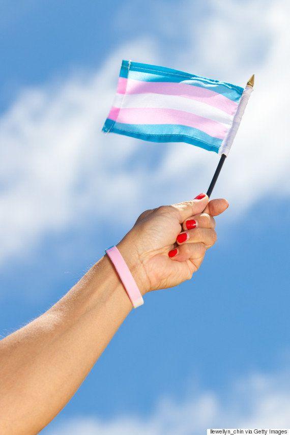 トランスジェンダーの入隊拒否に強い反発。3色の旗がTwitterに広がる