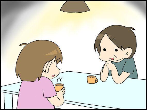 爺ちゃん婆ちゃんにとってのこもたろ-『息子は自閉症。ママのイラスト日記』(26)