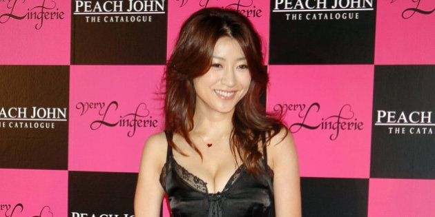 Hikaru Kawamura during Very Lingerie Week - Premium Party by Peach John Featuring Dita Von Teese - Arrivals...