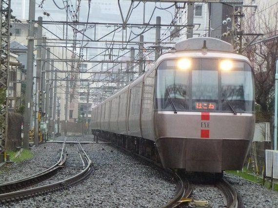 小田急電鉄30000形リニューアル車EXEα
