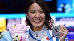 大橋悠依、涙の銀メダル「とにかく思い切っていこうと思った」
