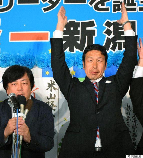 【新潟県知事選】米山隆一氏が当選 柏崎刈羽原発の再稼働に慎重(UPDATE)