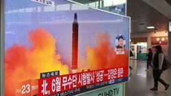 北朝鮮、弾道ミサイル発射実験に失敗?