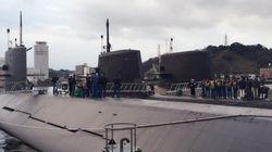 最新鋭の潜水艦「ずいりゅう」の訓練に同行した