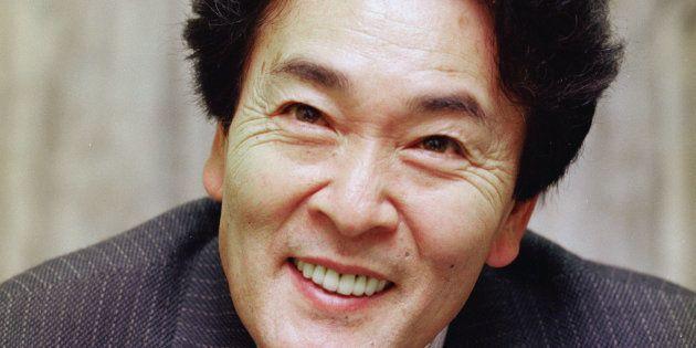 平尾昌晃さん(1998年5月撮影)