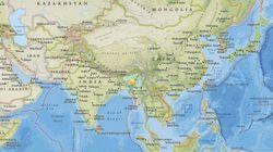 【速報】インドのインパールでマグニチュード6.7の地震