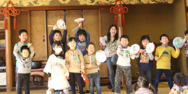沖縄のエイサー、福島がルーツだった!? いわきのお寺で太鼓づくりのワークショップが開かれたわけ