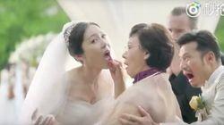 花嫁を中古車に例えて査定するアウディのCM⇒「女性差別だ」