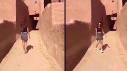 ミニスカで散歩の女性、サウジアラビア当局が一時拘束