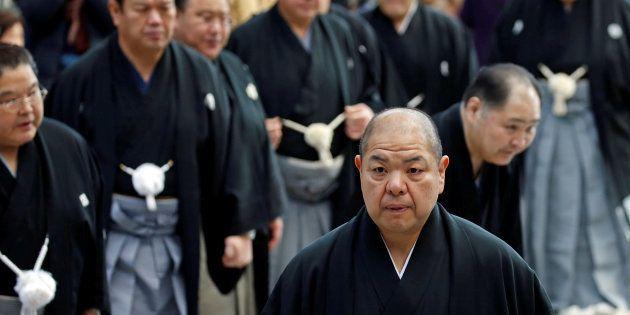 日本相撲協会の八角信芳理事長
