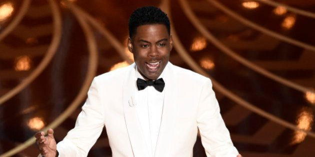 Host Chris Rock speaks at the Oscars on Sunday, Feb. 28, 2016, at the Dolby Theatre in Los Angeles. (Photo...