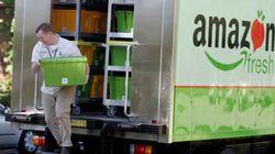Amazon.comがコンビニ設置へ、生鮮食品事業を拡大 WSJが報じる
