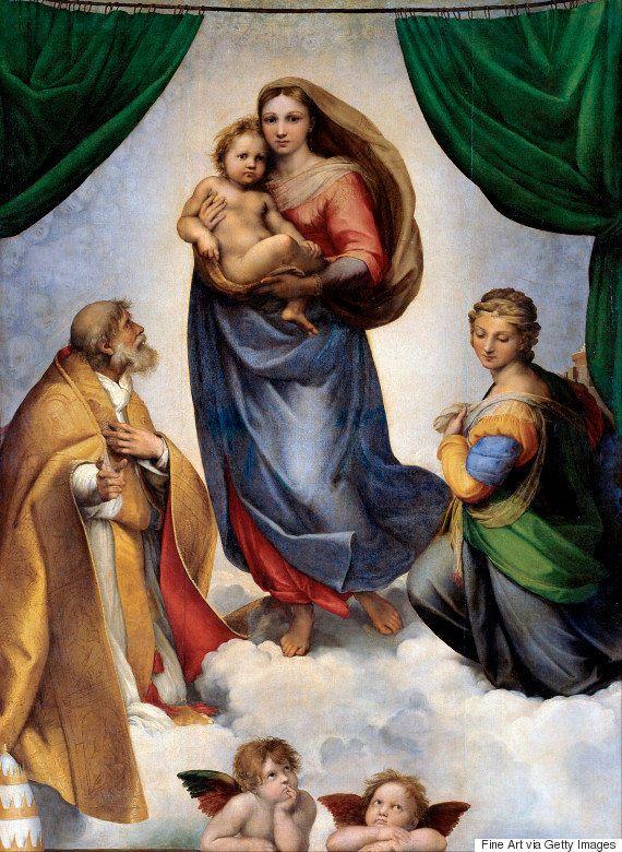 ビヨンセが赤ちゃんを抱く姿が神々しい。ラファエロの聖母子像と「完全に一致」