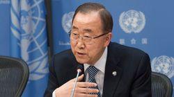 潘基文・国連事務総長、韓国大統領選に事実上の出馬宣言