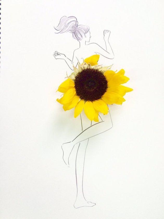 「ひまわりの日」を彩る素敵なアート。その由来は天気予報のアレだった