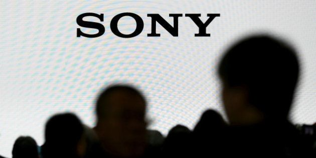 The company logo of Sony Cooperation is seen at the CP+ camera and photo trade fair in Yokohama, Japan,...
