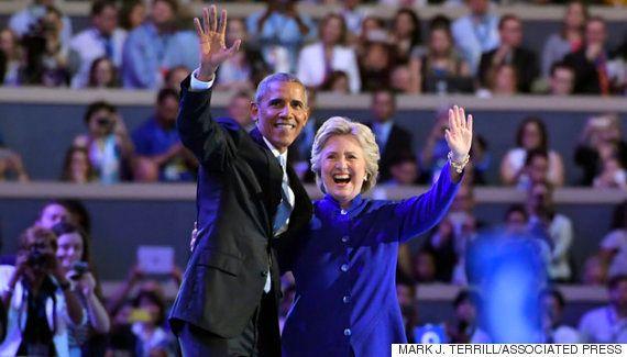 ヒラリー・クリントン、初の女性大統領候補として指名受諾演説「分断ではなく結束を」