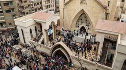 エジプトのコプト教会で爆発相次ぐ 少なくとも44人死亡