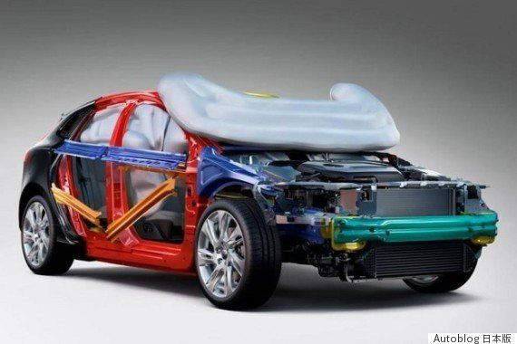 あなたが次に買う新車には、車外にもエアバッグが搭載されているかもしれない