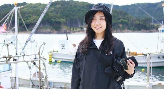 「新3K」はカッコよくて、稼げて、革新的。アートの力で「漁業」を変える、20代女性の生き方