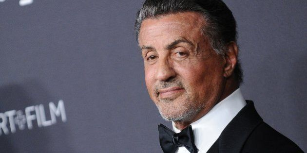 LOS ANGELES, CA - OCTOBER 30: Actor Sylvester Stallone attends the 2016 LACMA Art + Film gala at LACMA...