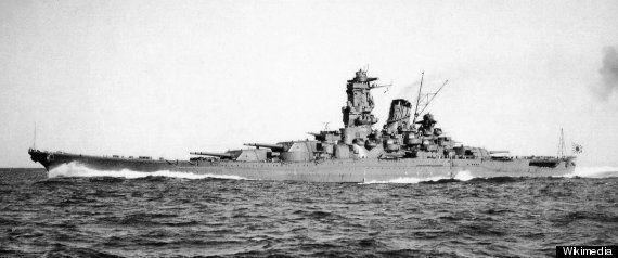 「戦艦長門」沈没から70年 世界のビッグ7と讃えられた巨艦の姿(画像集)