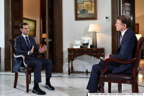 シリアのアサド大統領、眼帯の女性ジャーナリストの死にも我関せず「彼女の責任だ」