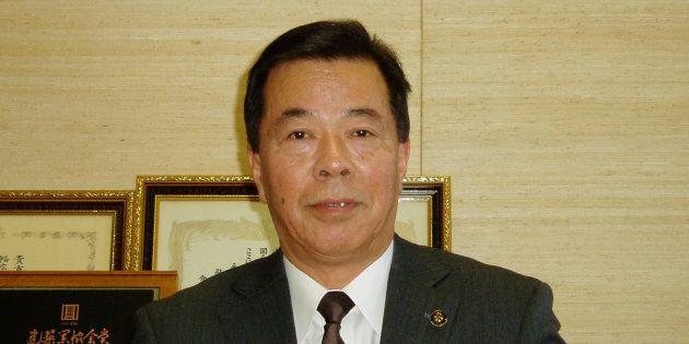 静岡県掛川市の松井三郎市長