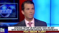 トランプ氏の長男「ロシア弁護士との会合は父親には伝えていない」