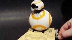 BB-8をLEGOだけで作ってみた 1万人達したら製品化も視野に