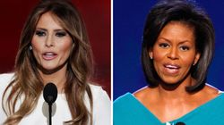 ドナルド・トランプ氏のメラニア夫人、ミシェル・オバマ夫人のスピーチを盗用? 検証してみた