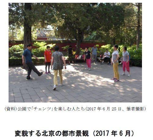 北京の街角から(その2)-変貌する都市景観:研究員の眼