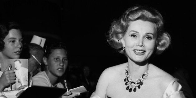 LOS ANGELES - CIRCA 1958: Actress Zsa Zsa Gabor in Los Angeles, California. (Photo by Earl Leaf/Michael...